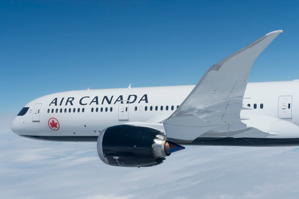 Air Canada Adds New Route To India From Eastern Canada