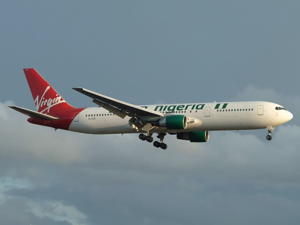 Virgin Nigeria Boeing 767