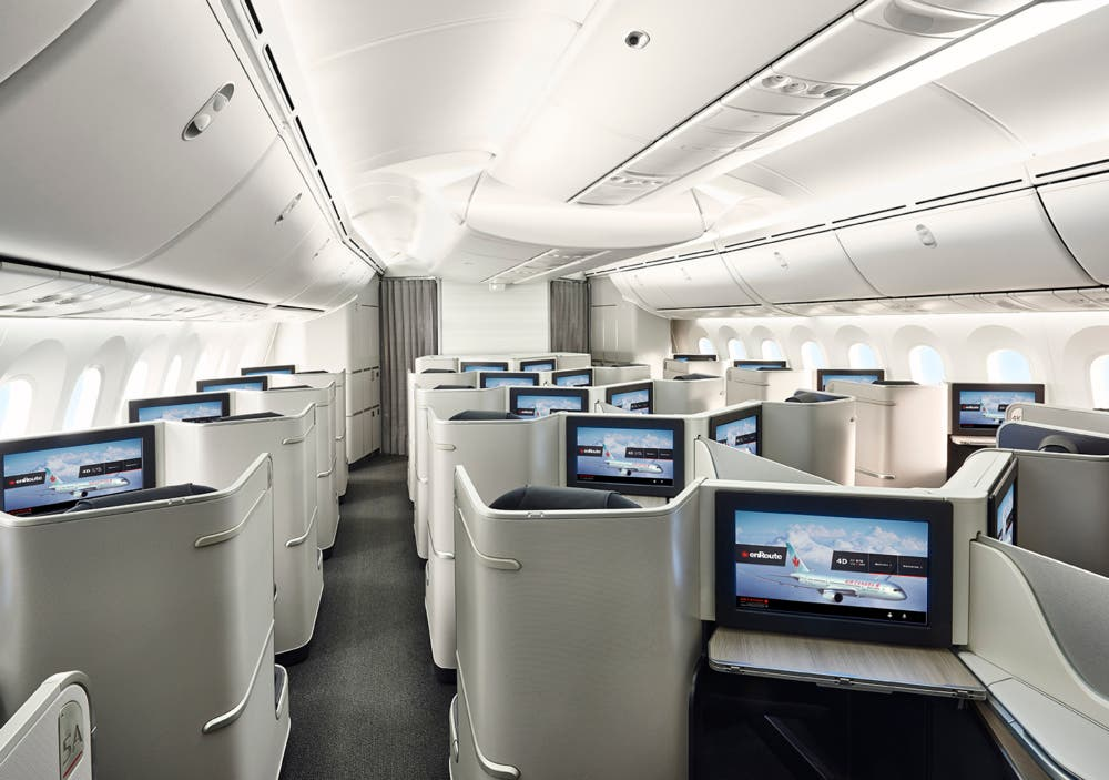 Air Canada 787 Signature Class